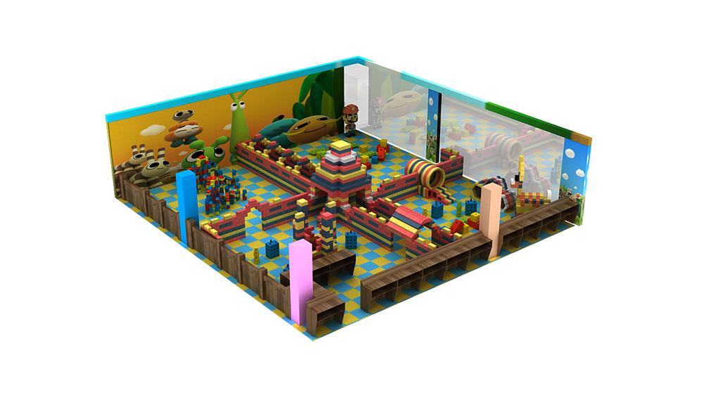 Funny soft play indoor playground equipments