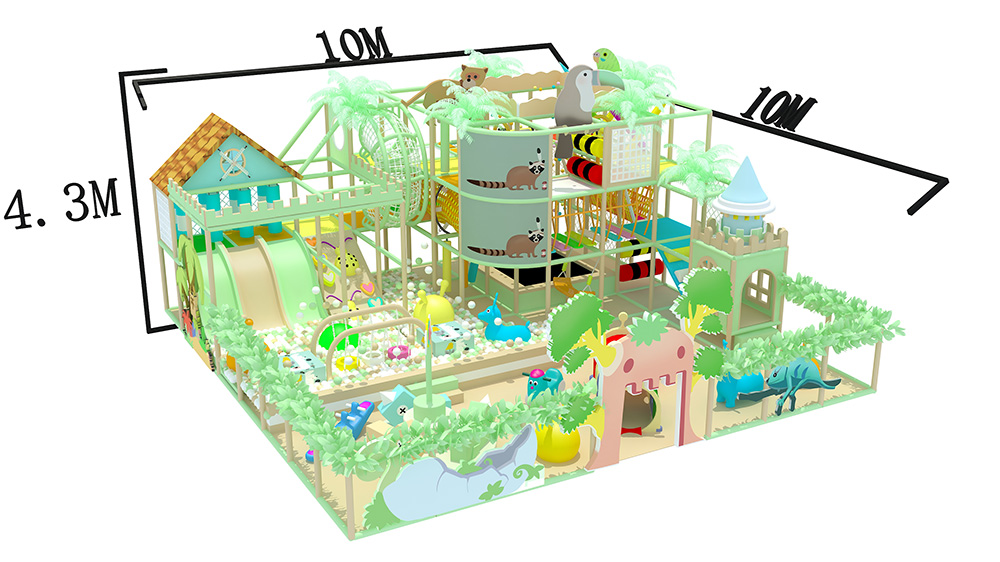 Macarone theme children's Park Indoor children's a...