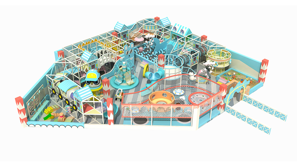 CE ASTM Certificated Indoor Playground for Kids Pl...