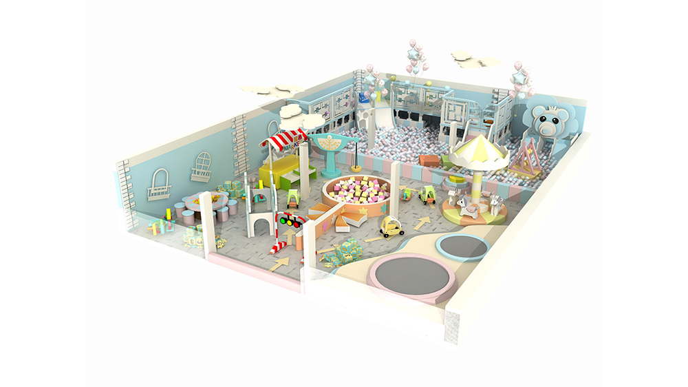 Kids Amusement Soft Indoor Playground Equipment
