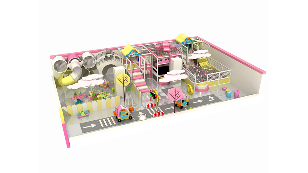 Indoor Kindergarten Soft Play Toys Playground