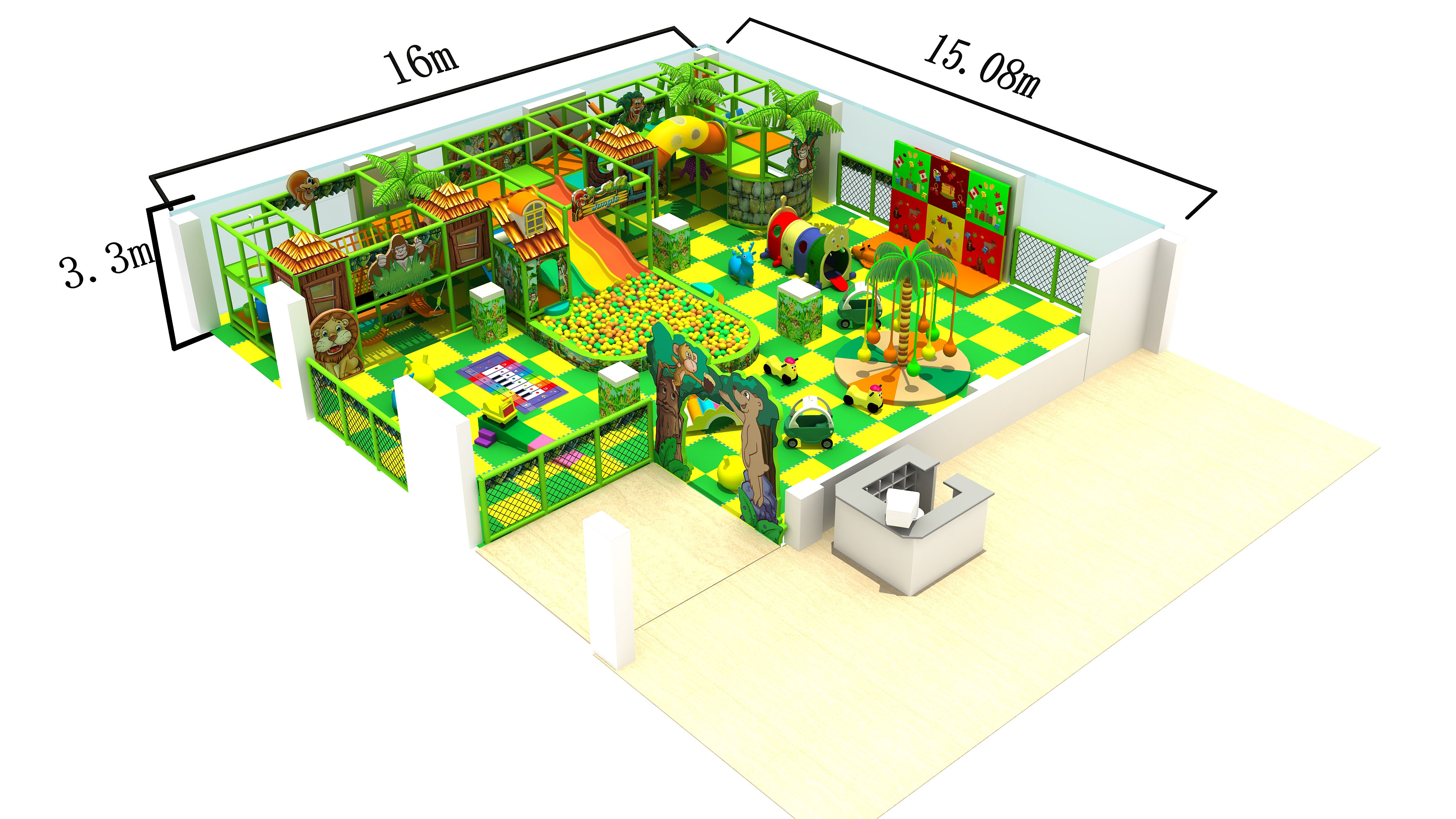 Four Safety Precautions For Children's Indoor Playground